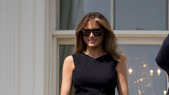 Melania Trump On Her Way To Africa