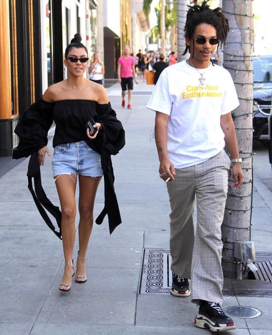 Kourtney Kardashian Spotted With Luka Sabbat One More Time. A Hot Romance Going On?
