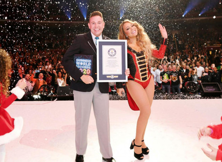 Mariah Carey's Christmas Song  Breaks 3 Guinness World Records