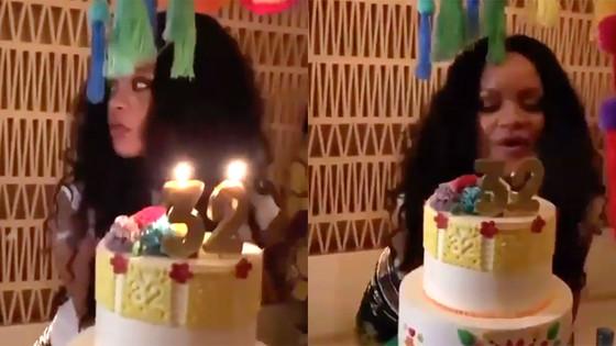 Rihanna Celebrated 32nd Birthday In Mexico