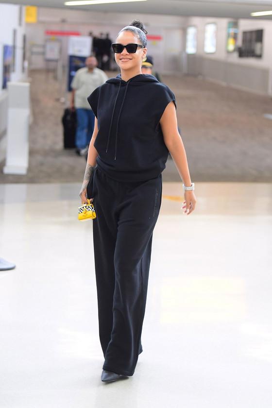 Rihanna In New York City For New York Fashion Week