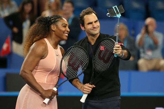Serena Williams And Roger Federer Meet In Duel In Perth