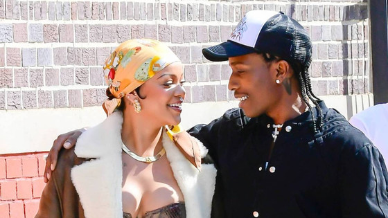 Rihanna And A$AP Rocky Sighted Shooting Music Video In NYC
