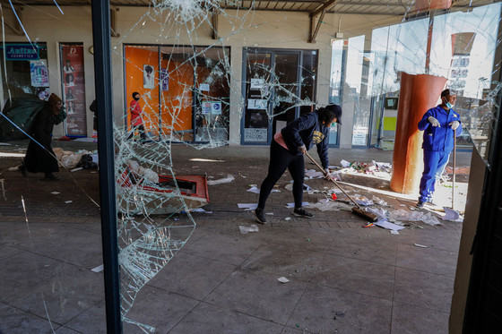 Death Toll From South Africa Unrest Soars To 212