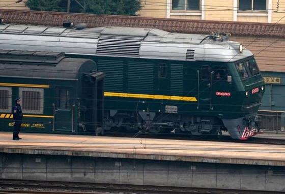 Kim Jong Un Takes Off By Train To Vietnam To Meet Trump