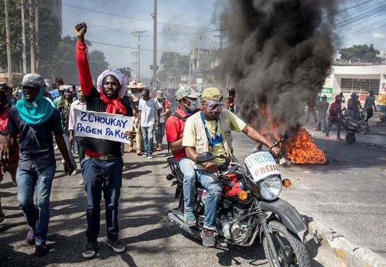 Violent Protests Erupt In Haiti Again