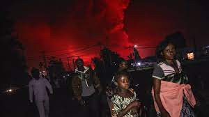 Goma City Under Threat As Lava From Nyiragongo Volcano Approaches Fast