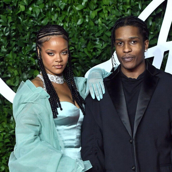 Rihanna And A$AP Rocky Officially Dating