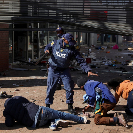 Death Toll From Unrest In South Africa Leaps To 117