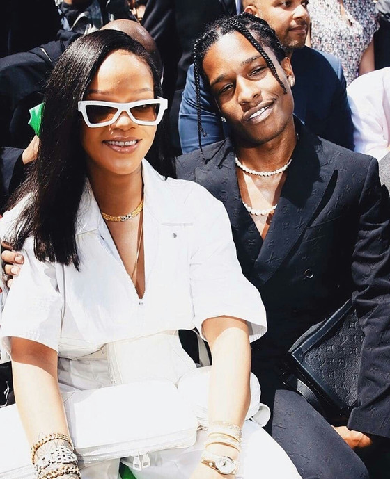 Rihanna And A$AP Rocky Talk Skin Care