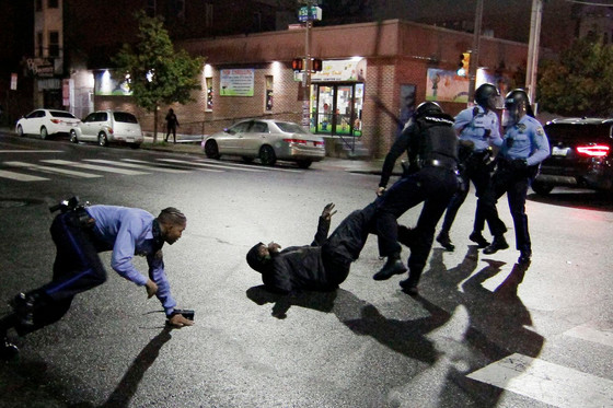Angry Protests In Philadelphia After Police Gunned Down Mentally Sick African American