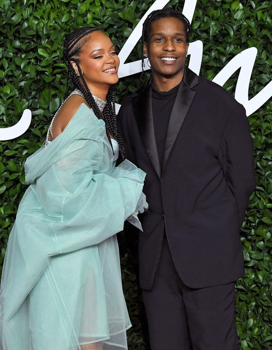 Rihanna And A$AP Rocky Deeply In Love