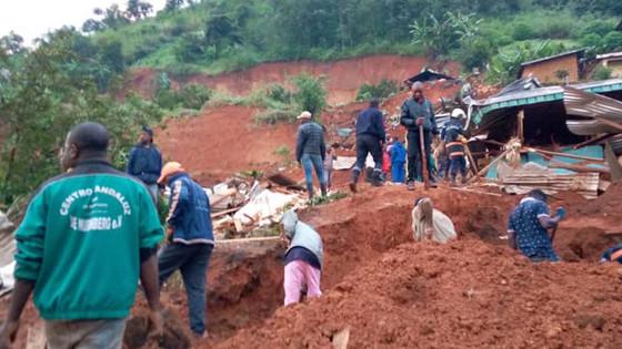 Landslide Kills 42 In Cameroon
