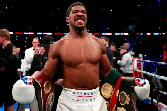 Anthony Joshua Retains Boxing Titles After Knocking Down Kubrat Pulev