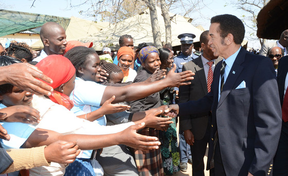 Botswana Bachelor President Khama Ready To Step Down
