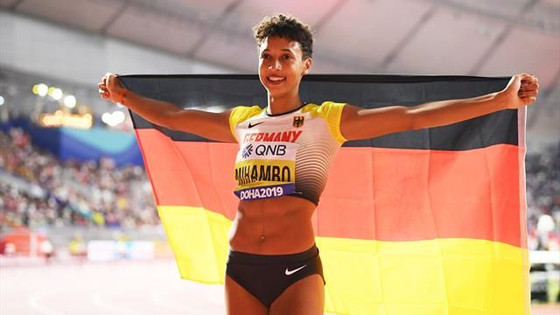 Malaika Mihambo Wins Women's Long Jump Gold Medal In Doha