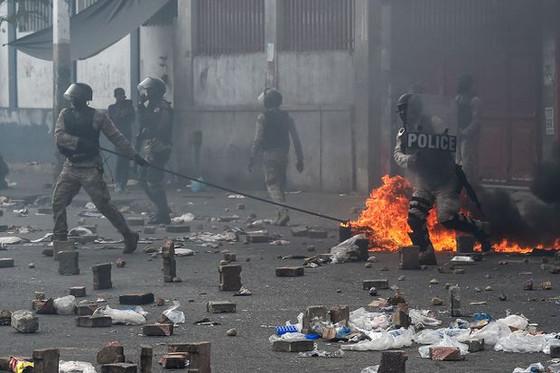 Anti-Corruption Protests In Haiti Continue