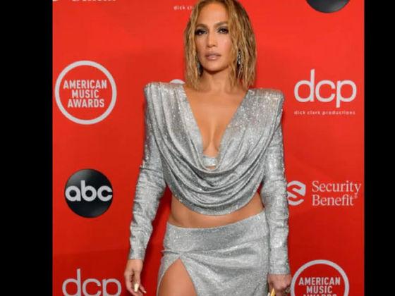 Celebrity Fashion At AMAs 2020