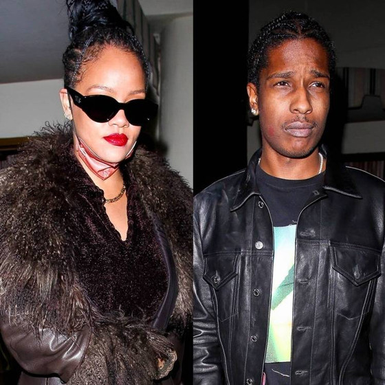 Rihanna Attends Drake's Party With A$AP Rocky