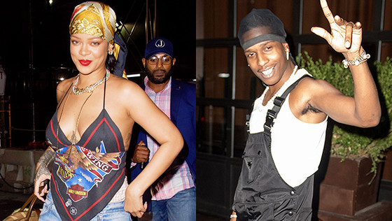 Rihanna Steps Out In Ripped Jeans For Date Night With A$AP Rocky After Becoming Billionaire