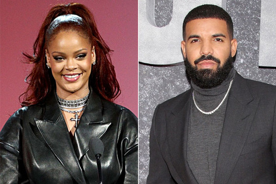 Rihanna Sighted With Incredible Rapper Drake
