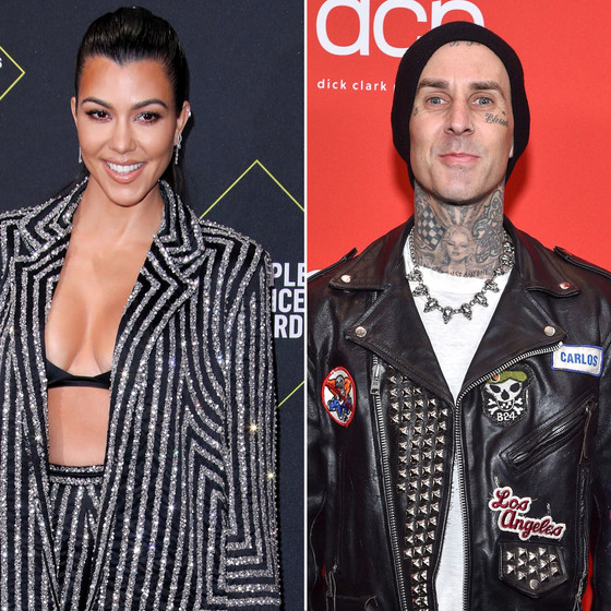 Kourtney Kardashian's Boyfriend Travis Barker Gets Tattoo Of Her Name On His Chest