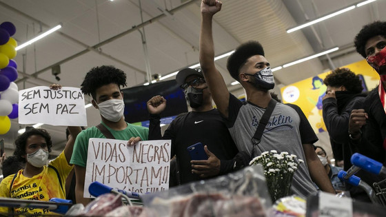 Massive Protests In Brazil After Barbaric Killing Of African Brazilian