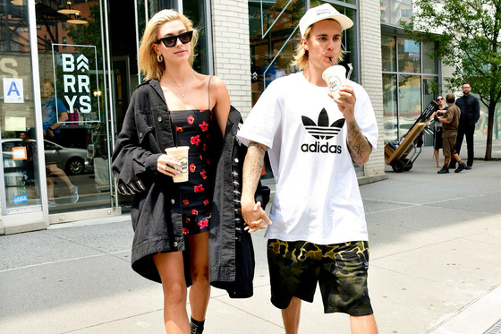 Alleged Paparazzi Shooting Of Underneath Hailey Baldwin's Skirt Sparks Response From Justin Bieber