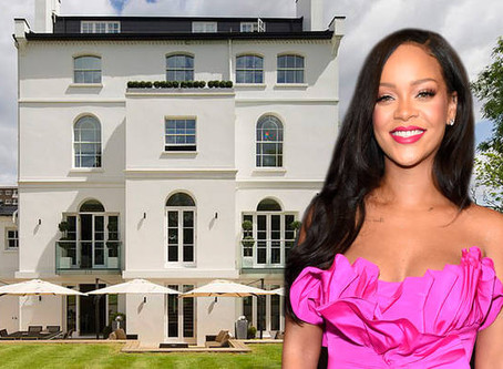 Rihanna's London Rental Mansion For Sale At $41 Million