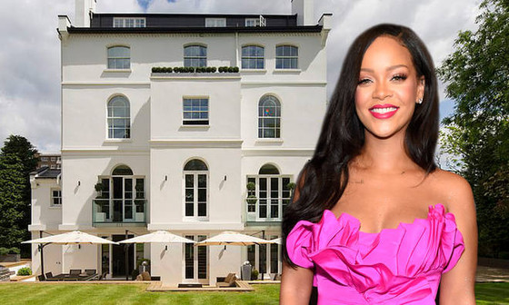 Rihanna's London Rental Mansion For Sale At $41 Million