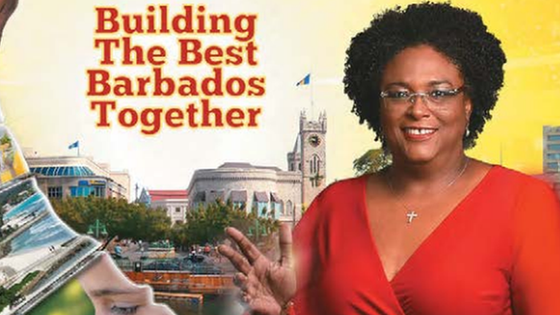 Mia Mottley Becomes Barbados' First Female Prime Minister