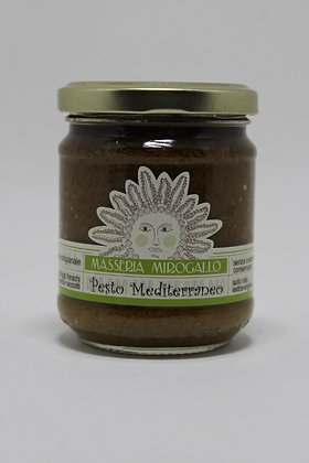 Masseria Mirogallo Pesto Mediterraneo 180g