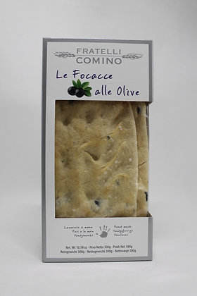 Le focacce alle olive 300g