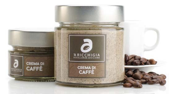 'A Ricchigia Crema van koffie 0.09kg