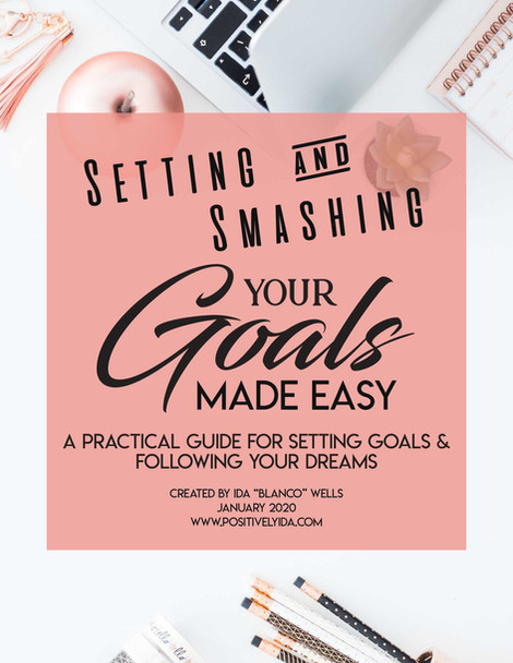 DIGITAL DOWNLOAD: Setting & Smashing Your Goals Made Easy - The Workbook