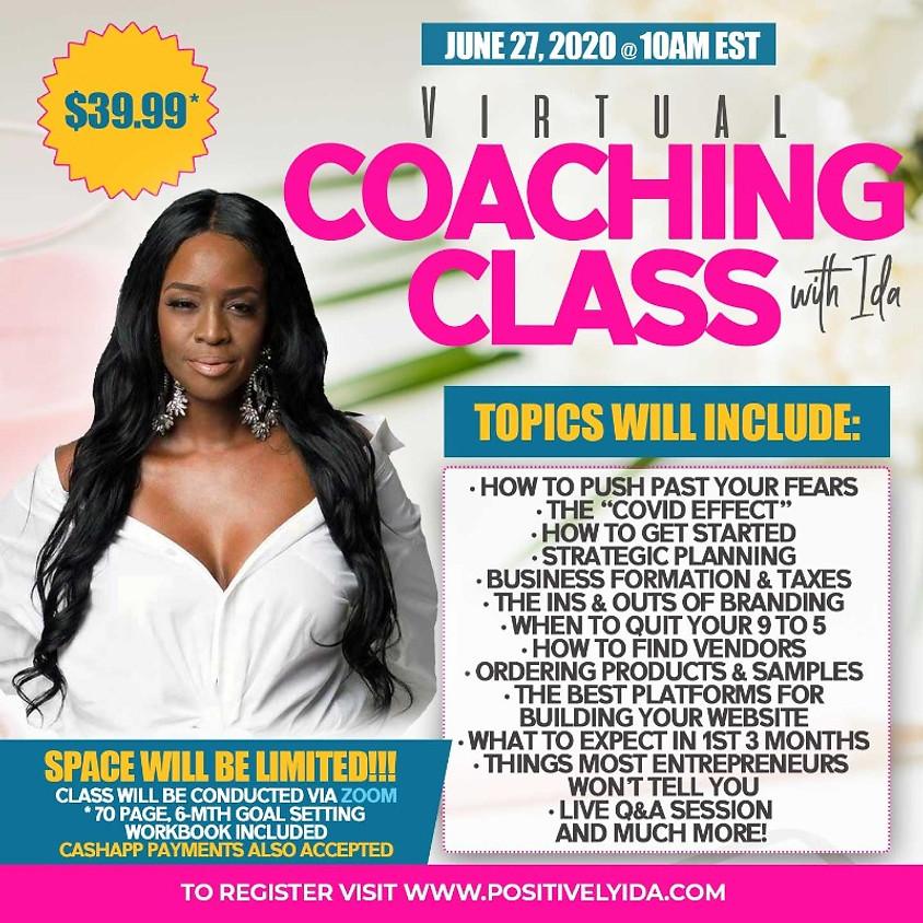 Virtual Coaching Class with Ida