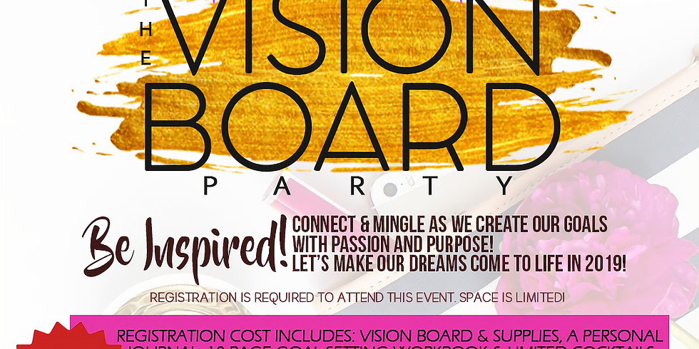 Vision Board Party (Rescheduled)