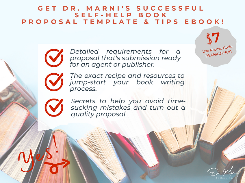 Book Proposal Template Graphic for DMO S