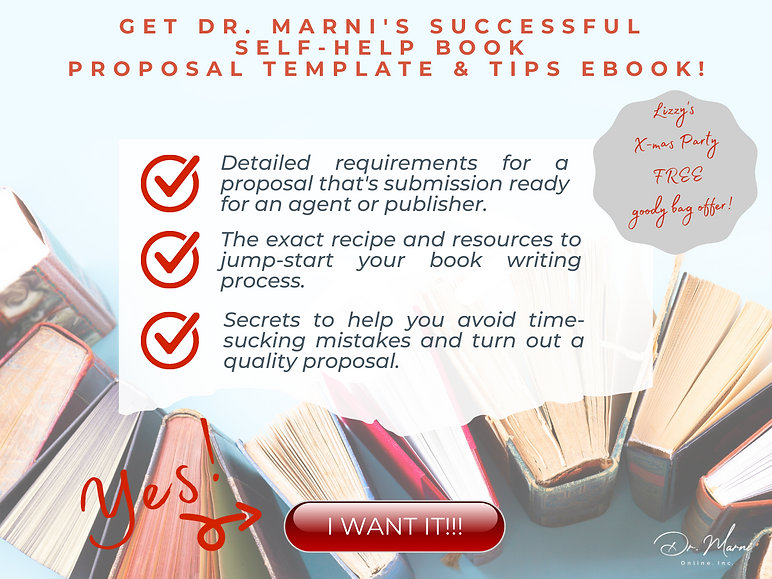 Book Proposal Template Graphic for DMO G