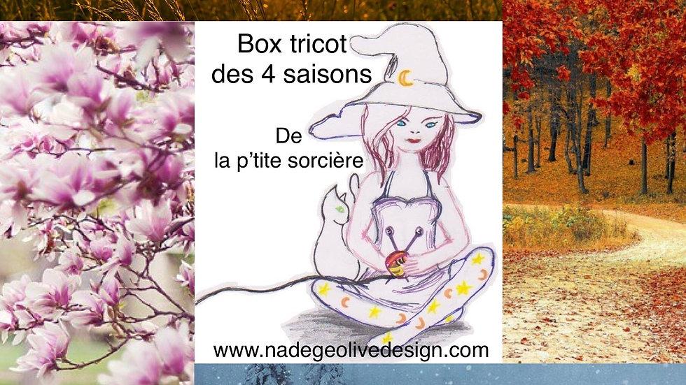 "Box d'été  ""Drac et Ondine"""