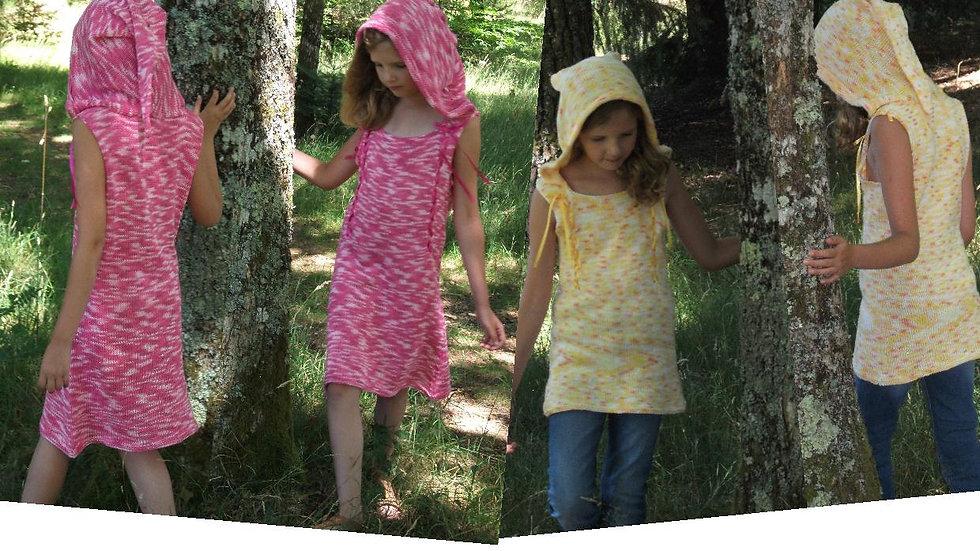 Patron robe enfant Lilou - collection Lolita Nymphe