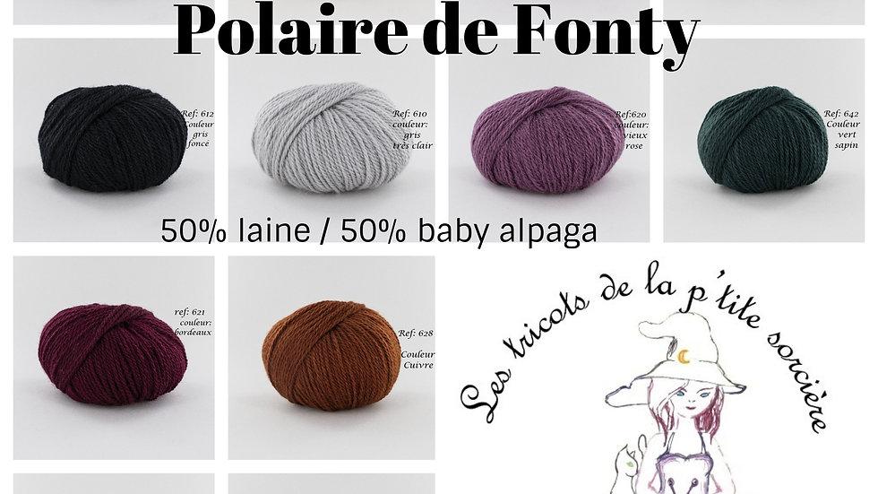 Pelote Polaire (laine et baby alpaga)