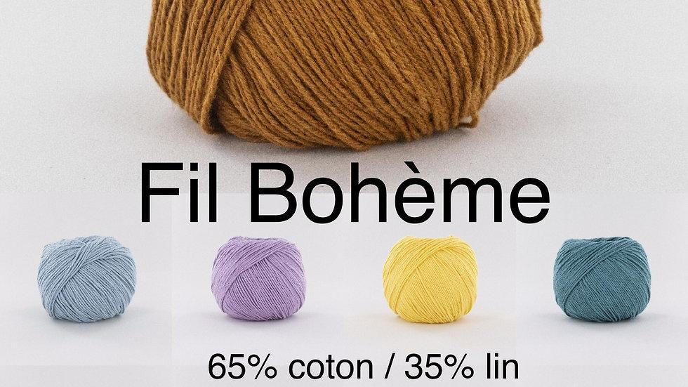 Pelotes Bohème (coton et lin)
