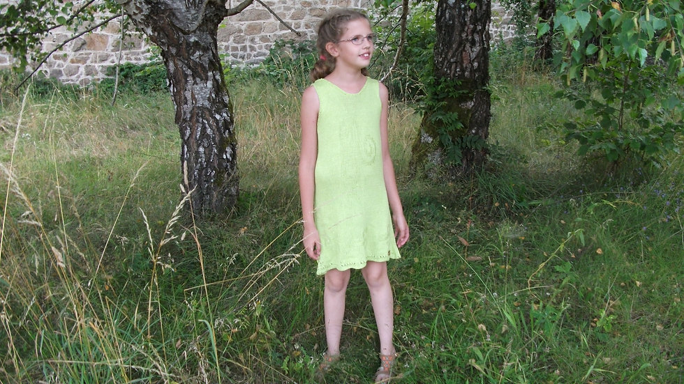 Robe Ailina taille 8/10 ans collection Triskell