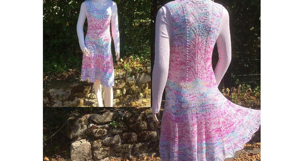 Patron tricot robe Fougère 2.0