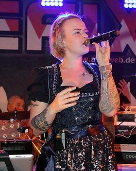 Bandaushilfe Sängerin Würzburg Bamberg Volksfeste