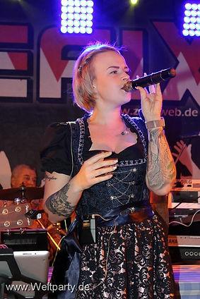 Band Aushilfe Sängerin Volkfeste und Events