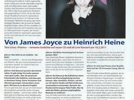 "Interview Plärrer Nürnberg - CD release ""Poems"""