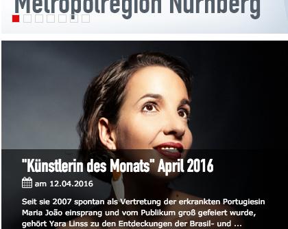 Künstlerin des Monats April 2016 der Metropolregion Nürnberg