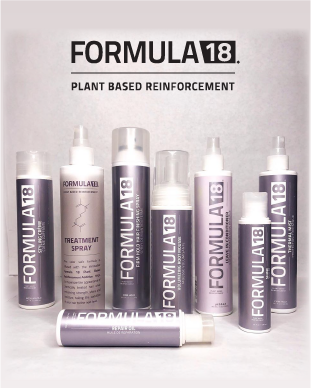 Formula 18 Plant Based Reinforcment product line